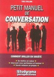 Petit Manuel De Conversation (2e Edition) - Intérieur - Format classique