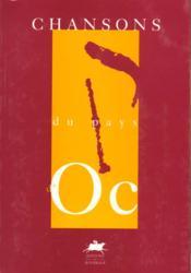 Chansons du pays d'oc - Couverture - Format classique