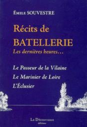 Recits De Batellerie - Couverture - Format classique