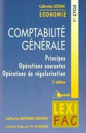 Lexifac comptabilite generale - Intérieur - Format classique