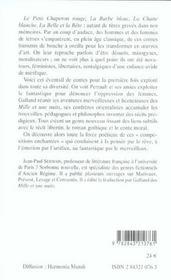 Le Conte De Fees Du Classicisme Aux Lumieres - 4ème de couverture - Format classique