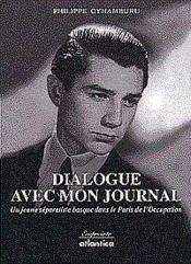 Dialogue Avec Mon Journal Un Jeune Separatiste Basque Dans Le Paris De Loccupation - Couverture - Format classique