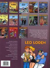 Léo Loden t.13 ; bretzel f@tal - 4ème de couverture - Format classique