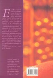 Les Cocktails - 4ème de couverture - Format classique