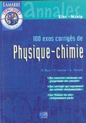 100 Exos Corriges Pysique - Chimie - Intérieur - Format classique