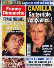 France Dimanche N°2882 du 23/11/2001 - Couverture - Format classique