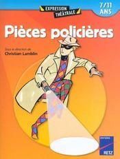 Pièces policieres t.1 ; 7/11 ans (édition 2002) - Intérieur - Format classique