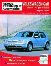 Rta 622.2 Golf Iv Diesel Sdi Tdi 90 A 150 Cv 98/03 - Couverture - Format classique