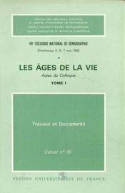 Ages De La Vie (Les) T.1 - Couverture - Format classique