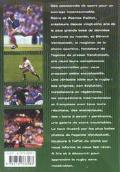 Tout savoir sur le rugby - 4ème de couverture - Format classique
