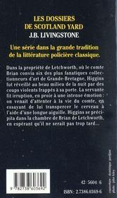 Noces Mortelles A Aix En Provence - 4ème de couverture - Format classique