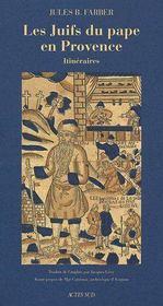 Les juifs du Pape en Provence - Couverture - Format classique