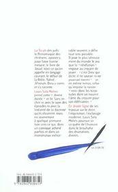 Le Livre Rouge De Yahve - 4ème de couverture - Format classique