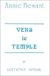Vers le temple - Couverture - Format classique
