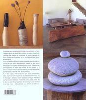Naturel Et Contemporain - 4ème de couverture - Format classique