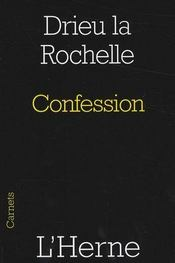 Confession - Intérieur - Format classique