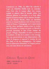 Jean de la Fontaine - 4ème de couverture - Format classique
