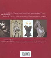 Lingerie ; langages du style - 4ème de couverture - Format classique