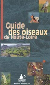 Guide des oiseaux de haute-loire - Couverture - Format classique
