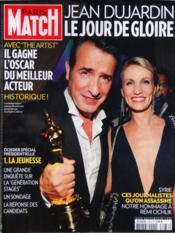 Paris Match N°3276 du 01/03/2012 - Couverture - Format classique