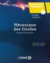 Mécanique des fluides - Couverture - Format classique