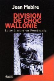 Division de choc en wallonie - Couverture - Format classique