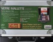 La valisette poker - 4ème de couverture - Format classique