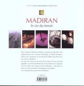 Madiran ; Le Vin Du Terroir - 4ème de couverture - Format classique