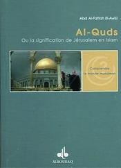 Al-Quds, Signification De Jerusalem En Islam - Intérieur - Format classique