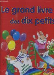 Le grand livre a fenetres des dix petits lapins - Couverture - Format classique
