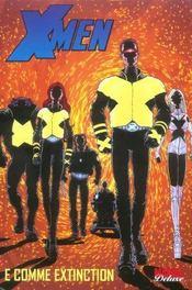 X-men t.1 ; E comme extinction - Intérieur - Format classique