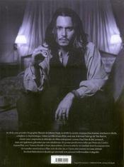 Johnny Depp - 4ème de couverture - Format classique