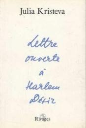 Lettre ouverte a harlem desir - Couverture - Format classique