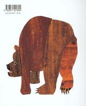 Ours brun, dis-moi... - 4ème de couverture - Format classique