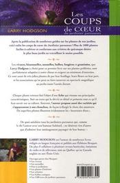 Les Coups De Coeur Du Jardinier Paresseux - 4ème de couverture - Format classique