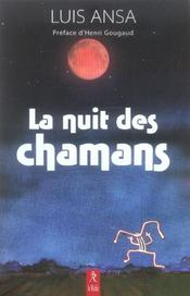 Nuit Des Chamans - Intérieur - Format classique