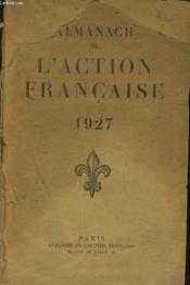 Almanach De L'Action Francaise 1927 - Couverture - Format classique