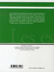 Les années schröder - 4ème de couverture - Format classique