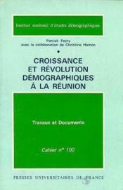 Croissance Revolution Demo. Reunion - Couverture - Format classique