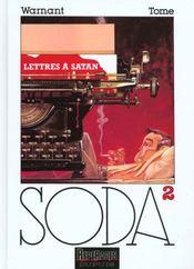 Soda t.2 ; lettres à Satan - Intérieur - Format classique