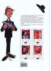Soda t.2 ; lettres à Satan - 4ème de couverture - Format classique