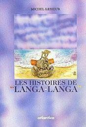 Les histoires de langa-langa - Couverture - Format classique