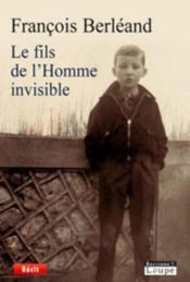Le fils de l'homme invisible - Couverture - Format classique