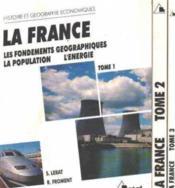 La france t.1la france t 1 - Couverture - Format classique