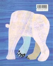 Ours Blanc, Dis-Moi... - 4ème de couverture - Format classique