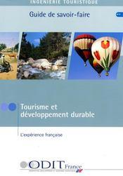 La position française en matière de tourisme durable - Intérieur - Format classique