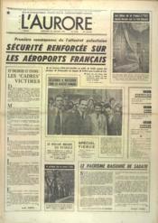 Aurore (L') N°9452 du 22/02/1975 - Couverture - Format classique