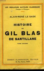 Histoire De Gil Blas De Santillane. Tome 2. - Couverture - Format classique