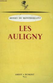 Les Auligny - Couverture - Format classique