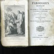Paroissien Romain - Couverture - Format classique
